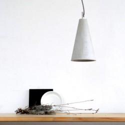 Betonowa lampa wisząca - 2one