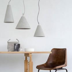 Betonowa lampa wisząca - 3one