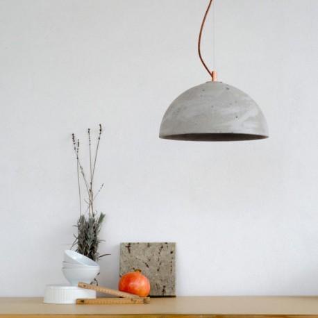 lampy betonowa sfera