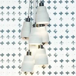 Oryginalna lampa wisząca z betonu CADIZ 7 - It's About RoMi