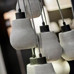 Nowoczesny splot betonowych kloszy - lampa CADIZ marki It's About RoMi