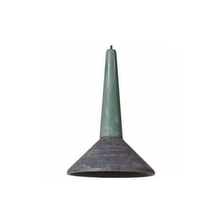 Betonowa lampa wisząca do nowoczesnych aranżacji