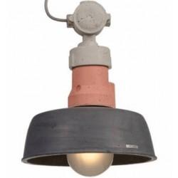 Betonowa lampa wisząca w trzech kolorach