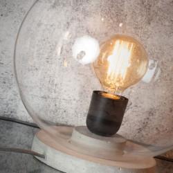 Lampa stołowa betonowa