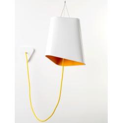Nowoczesna lampa wisząca TRIGONE - dwie wersje kolorystyczne
