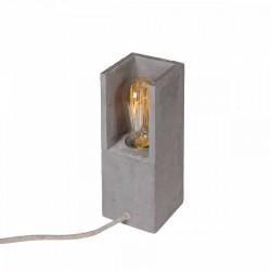 Betonowa lampa stołowa