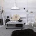 Biała lampa wisząca Workshop M - HK Living