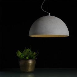 Mega duża lampa z betonu