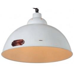 Industrialna lampa wisząca - wersja biała lub czarna