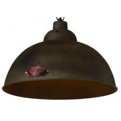 Metalowa lampa wisząca - wersja Rusty Green