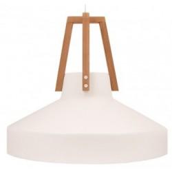 Biała lampa wisząca WORK mała