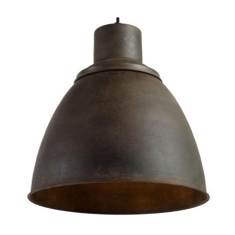 Postarzona lampa industrialna PRAGA M - Rusty Green