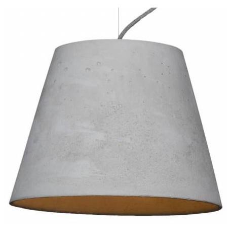 Minimalistyczna lampa z betonu - KOPA