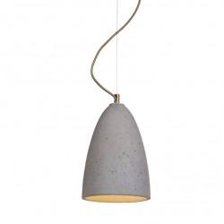 Lampa wisząca betonowa - rozmiar M
