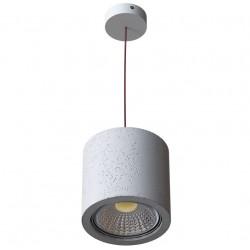 Nowoczesna lampa wisząca, beton MONAX 14.3