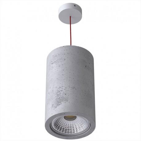 Betonowa lampa wisząca MONAX 25 CLEONI