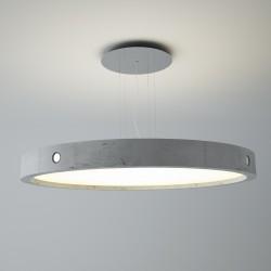 Utranowoczesna lampa wisząca, beton OMEGA 38 CLEONI