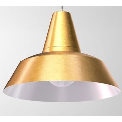 Złota lampa metalowa GELSOMINO CLEONI
