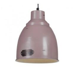 Metalowa lampa industrialna - wersja różowa