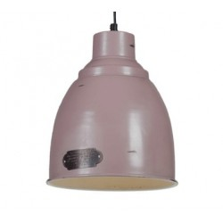 Metalowa lampa industrialna PRAGA S Lilac