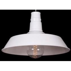 Przemysłowa lampa wisząca - wersja S1, biała