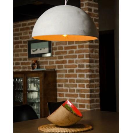 Betonowa lampa wisząca Strefa L