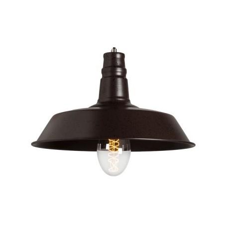 Industrialna lampa wiszaća Raw Metal S2 - Rusty Brown