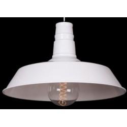 Biała lampa industrialna - wersja S3, biała