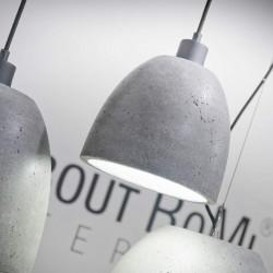 Lampa betonowa Malaga M