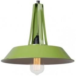 Industrialna lampa wisząca - wersja S niebieska, zielona lub różowa