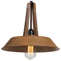 Przemysłowa lampa wisząca - wersja S rusty