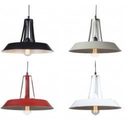 Lampa industrialna - wersja M czarna, biała, czerwona lub szara
