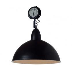 Czarna lampa przemysłowa Top Gauge Black