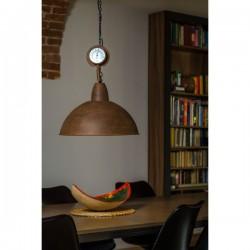 Designerska lampa industrialna - wersja rusty