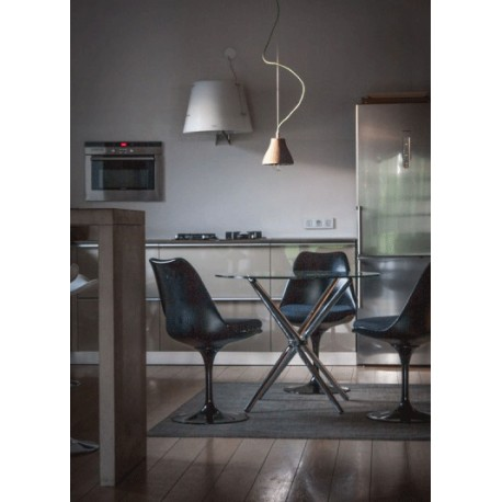 Stalowa lampa przemysłowa X-Bell