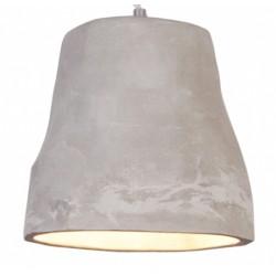 Prosta lampa wisząca z cementu narutalnego