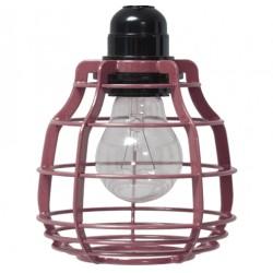 Designerska lampa wisząca LAB (kolor Marsala) - HK Living
