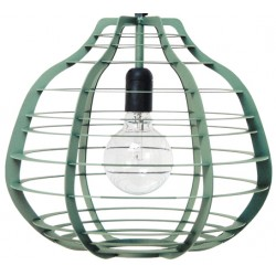 Zielona lampa wisząca LAB XL zielona - HK Living