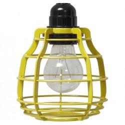 Industrialna lampa LAB żółta - HK Living