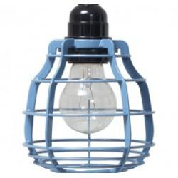 Niebieska lampa LAB - HK Living