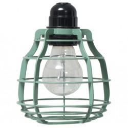 Zielona lampa industrialna LAB - HK Living