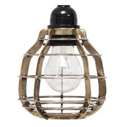 Mosiężna lampa LAB - HK Living