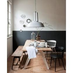 Piaskowa lampa industrialna Workshop - HK Living
