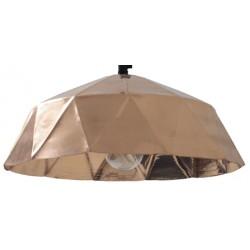 Miedziana lampa Workshop Diamond - HK Living