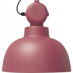 Fabryczna lampa wisząca Factory (kolor Marsala) - HK Living