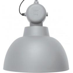 Szara lampa industrialna Factory L (matowa) - HK Living