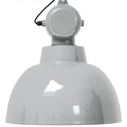 Jasnoszara lampa wisząca Factory L - HK Living