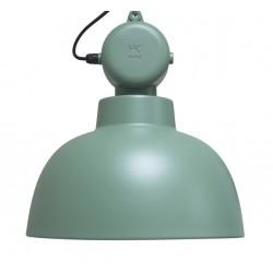Zielona lampa industrialna Factory M (mat) - HK Living