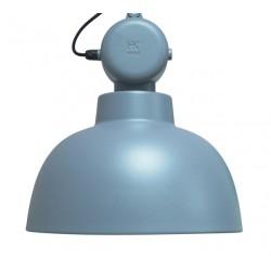 Niebieska lampa fabryczna Factory (mat) - HK Living