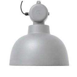 Jasnoszara lampa industrialna Factory M - HK Living